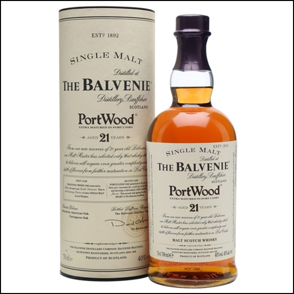 Balvenie 21 Year Old Port Wood Finish First Release 70cl 40%