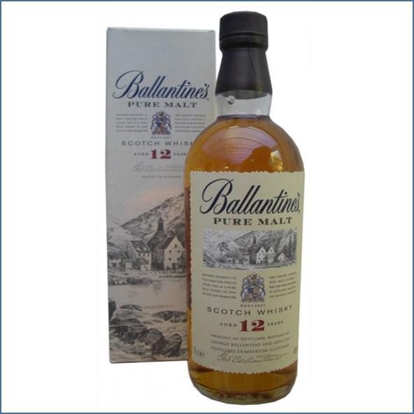 Ballantines 12 Year Old Pure Malt 70cl 40%