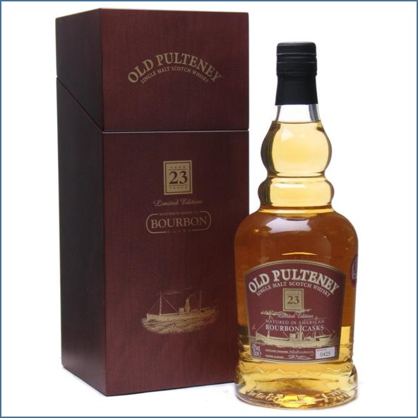 Old Pulteney 23 Year Old Bourbon Cask 70cl 43%