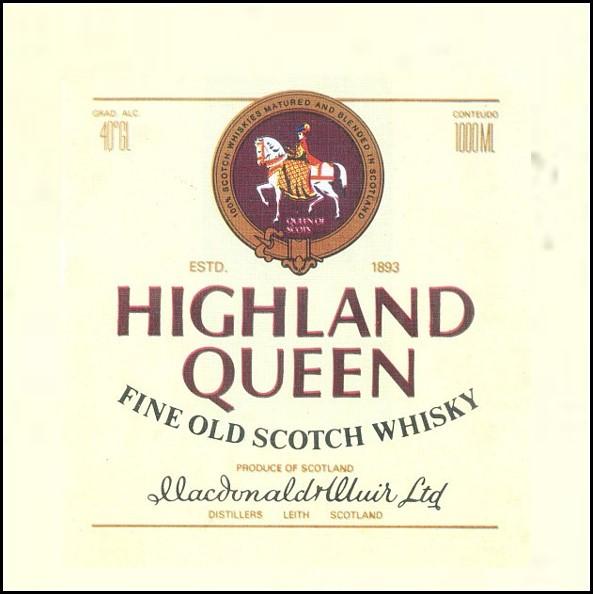 Highlang Queen Whisky 高地女王威士忌收購價格表