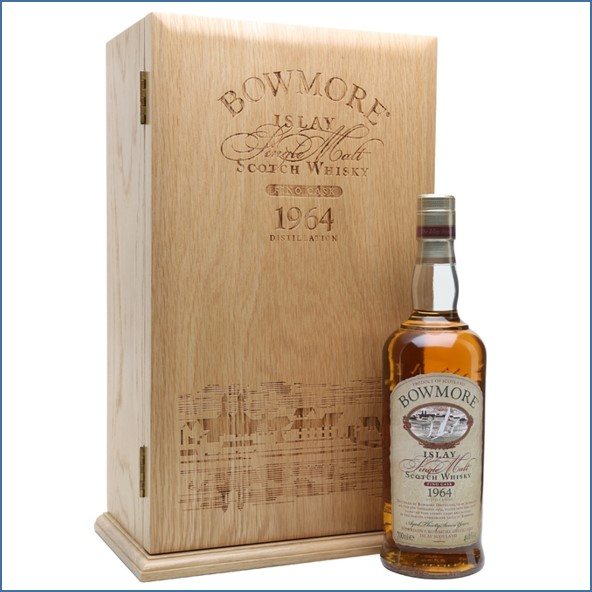 Bowmore 37 Year Old 1964  Fino Sherry Cask 70cl 49.6%