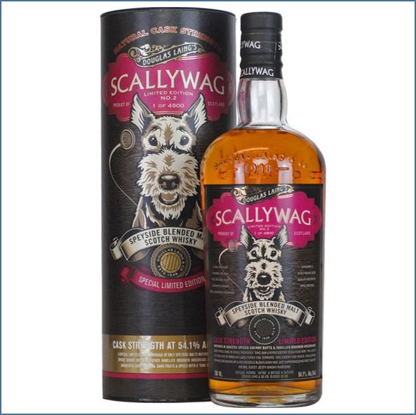 Scallywag Cask Strength Limited Edition No. 2 Speyside Malt Blended Douglas Laing 70cl  54.1%