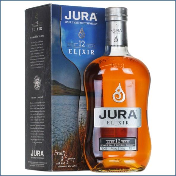 Isle of Jura 12 Year Old Elixir Island Single Malt Scotch Whisky 70cl 40%