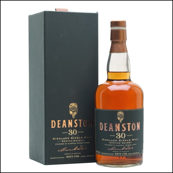 Deanston 30 Year Old Sherry Cask Finish 75cl 46.7%