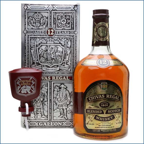 Chivas Regal 12 Year Old 1 Gallon - Branded Pump Included 450cl 43%  收購奇瓦士,奇瓦士收購