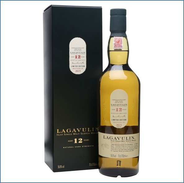 LAGAVULIN 12 YEAR OLD Bot.2015 15th Release 70cl 56.8% 收購拉加維林12年 2015