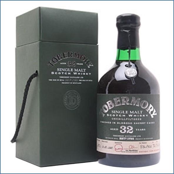 收購托本莫瑞32年  Tobermory 32 Year Old 1972 Oloroso Sherry Finish 70cl 50.1%