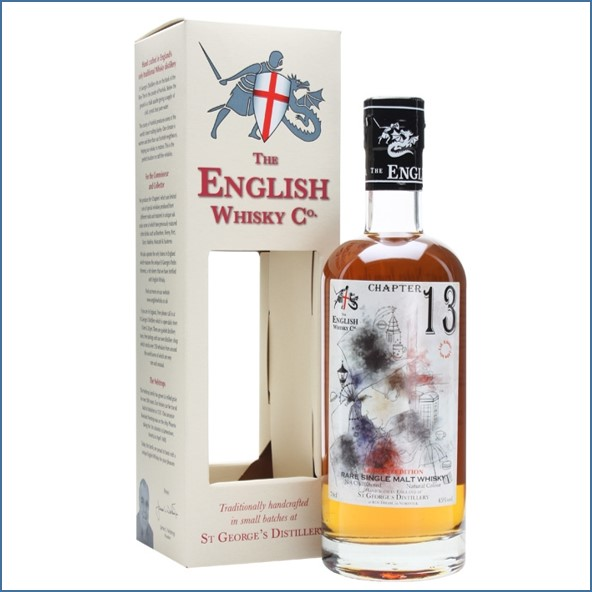 English Whisky Co. Chapter 13 Second Release -St. George's day limited edition 70cl 45%
