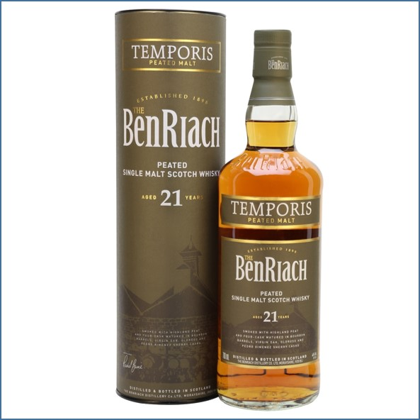Benriach 21 Year Old Temporis peated 70cl 46%