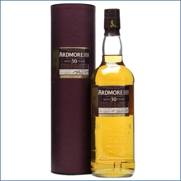 Ardmore 30 Year Old Highland Single Malt Scotch Whisky 75cl 53.7%