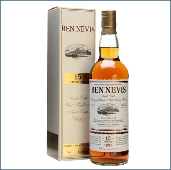 Ben Nevis 15 Year Old 1996 Sherry Cask #1652 70cl 55.4%