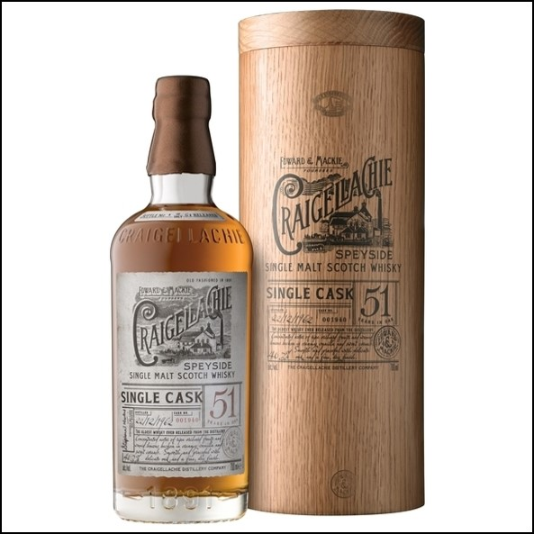 Craigellachie 51 Year Old 70cl 40%