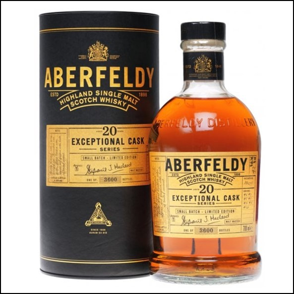 Aberfeldy 20 Year Old - Exceptional Cask Series - TWW Exclusive 70cl 43%  收購艾伯迪20年