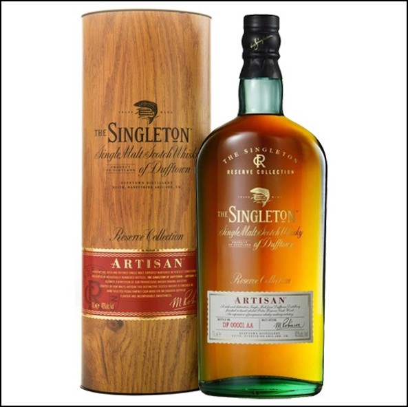 The Singleton of Dufftown Artisan 100cl 40% 蘇格登 ARTISAN收購