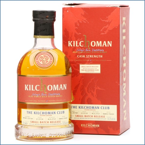 Kilchoman 2013 5 Year Old Small Batch Release 2008 Oloroso Sherry Finish 70cl 58.2%