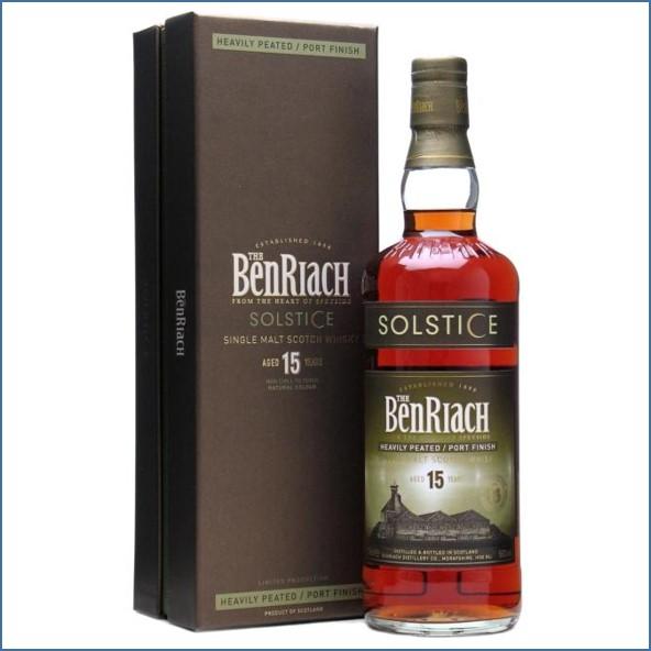 Benriach 15 Year Old Solstice  Peated Port Finish 70cl 50% 班瑞克15年 冬至重煙燻波特換桶