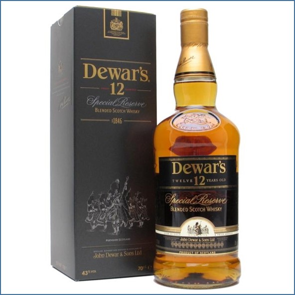 Dewar's 12 Year Old - Special Reserve Blended Scotch Whisky 70cl 40%