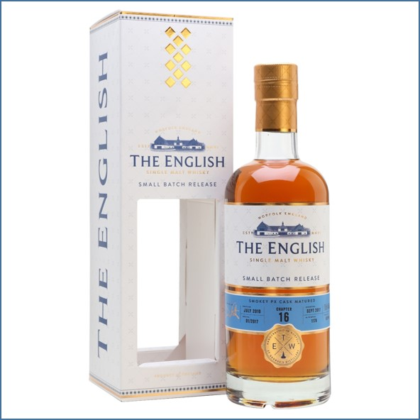The English Whisky Small Batch Chapter 16 2010 Bot.2017 70cl 46%