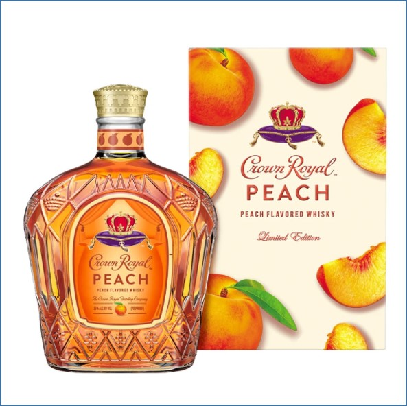 Crown Royal Peach 75ck 35%