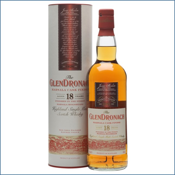 Glendronach 18 Year Old Marsala Cask Finish 70cl 46%