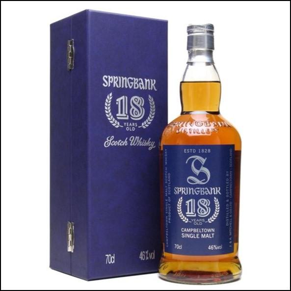 雲頂威士忌18年收購/Springbank 18 Year Old 1st Edition Campbeltown Single Malt Scotch Whisky 70cl 46%