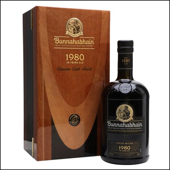 Bunnahabhain 1980 36 Year Canasta Old70cl 49.5%