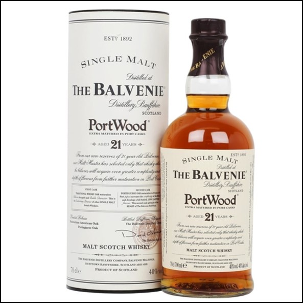 Balvenie 21 Year Old Port Wood Finish 70cl 40%