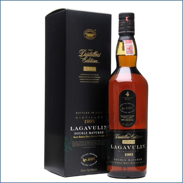 LAGAVULIN 1993 DISTILLERS EDITION Bot.2009 70cl 43%拉加維林 收購 1993-2009 雙桶