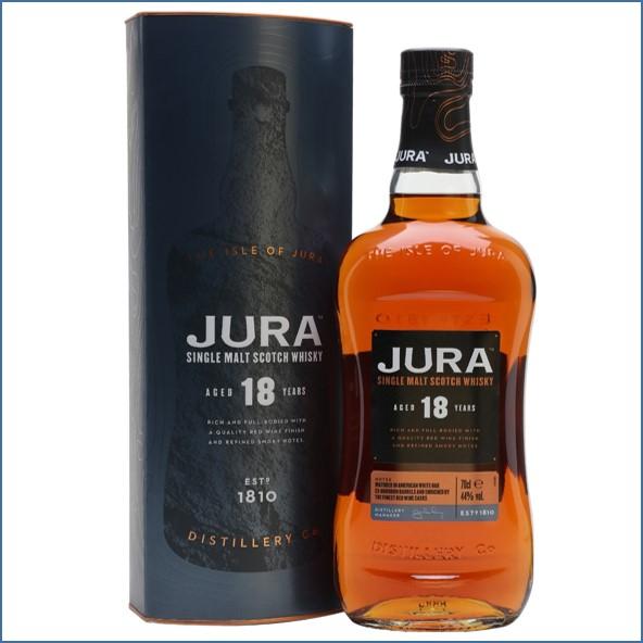 Jura 18 Year Old Red Wine Finish Island Single Malt Scotch Whisky 70cl 44%