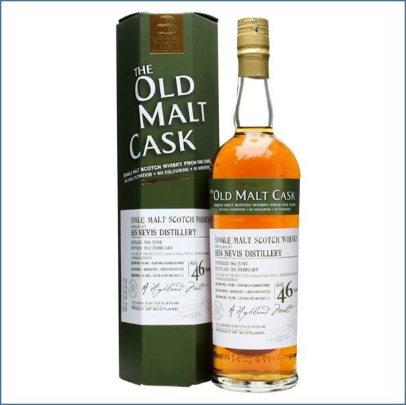 Ben Nevis 1966 46 Year Old Old Malt Cask #9511 Douglas Laing 70cl 43.1%
