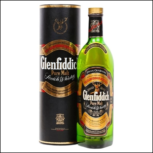 Glenfiddich Pure Malt Special Old Reserve Bot.1980s 75cl 43%