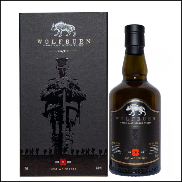 Wolfburn Lest We Forget 2018 70cl 46%