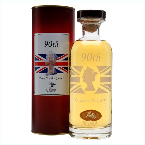 The English Whisky Co. Queens 90th 'Long Live The Queen' 70cl 46%