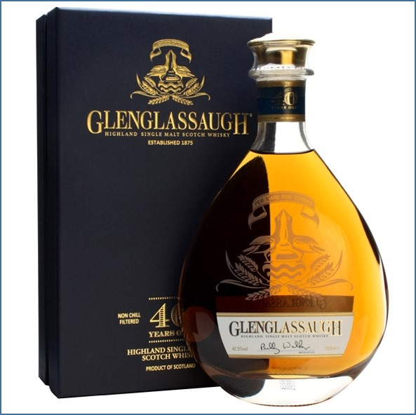 Glenglassaugh 40 Year Old Highland Single Malt Scotch Whisky 70cl 42.5%