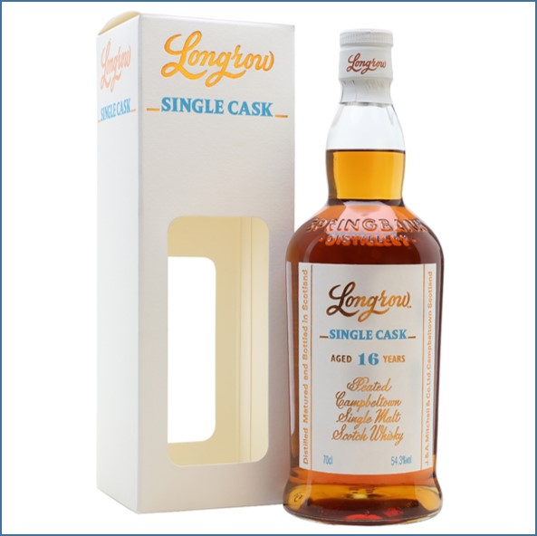 Longrow 16 Year Old 2001-2018 Chardonnay - Single Cask 70cl 54.3%