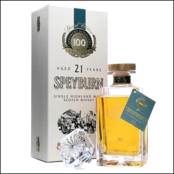 Speyburn 21 Year Old Centenary Decanter 70cl 40%