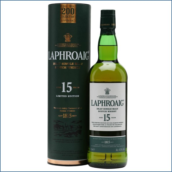 Laphroaig 15 Year Old 200th Anniversary 70cl 43%