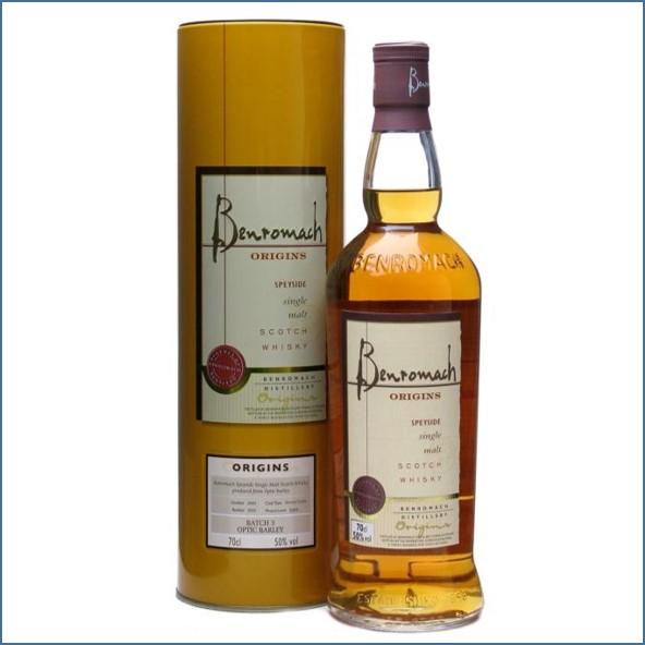 收購百樂門威士忌,百樂門威士忌收購, Benromach 2000 Origins 3 Optic Barley Sherry Casks 70cl 50%