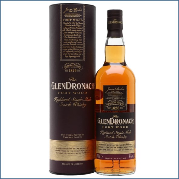 GlenDronach 10 Year Old Port Wood 70cl 46%