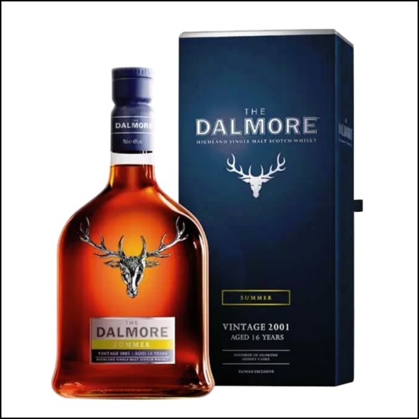 The Dalmore Seasons Collection Taiwan Exclusive – Summer Vintage 2001 (Aged 16 Years)大摩鎏金四季系列收購 2001-夏