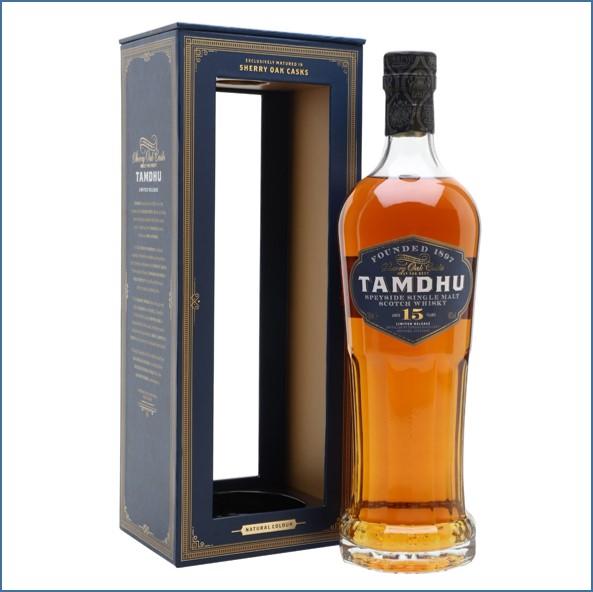 Tamdhu 15 Year Old Sherry Cask 70cl 46%