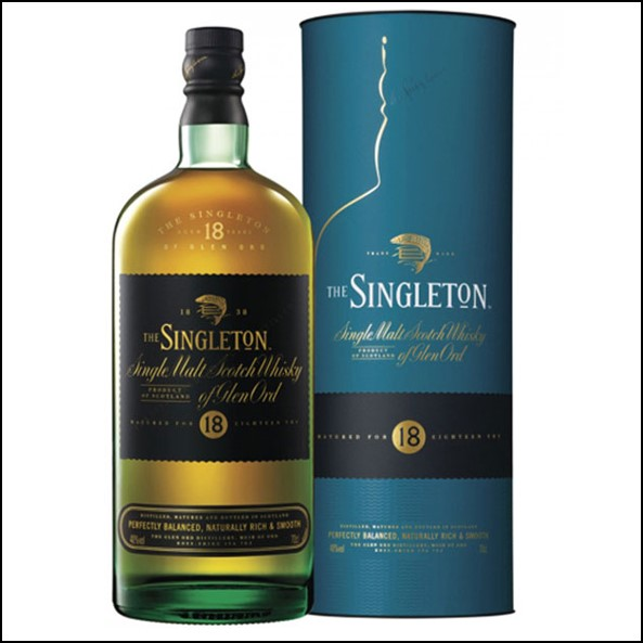 The Singleton of Glen Ord 18-year-old 70cl 40% 蘇格登18年Glen Ord收購