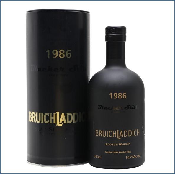 Bruichladdich 1986 20 Year Old Blacker Still 70cl 50.7%