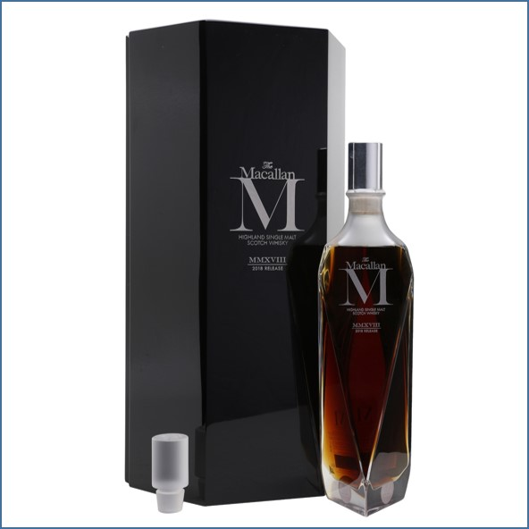 收購麥卡倫/Macallan M Decanter 2018 Edition 70cl 44.5%