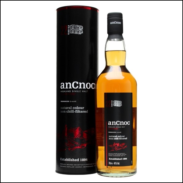 ANCNOC 22 YEAR OLD 70cl 46%