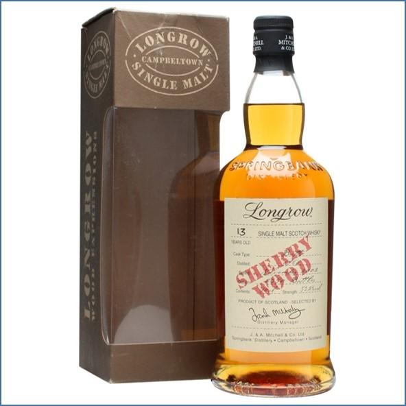 Longrow 13 Year Old 1989-2002 Sherry Wood Campbeltown Single Malt Scotch Whisky 70cl 53.2%