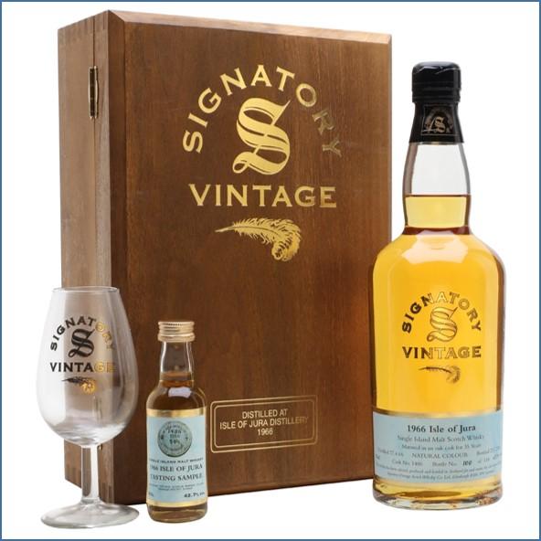 Isle of Jura 1966 35 Year Old Signatory Island Single Malt Scotch Whisky 70cl 42.7%
