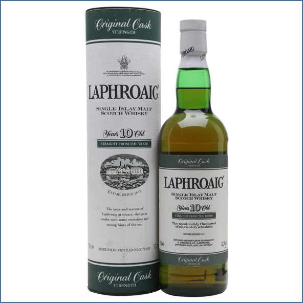 Laphroaig 10 Year Old Cask Strength 70cl 57.3%