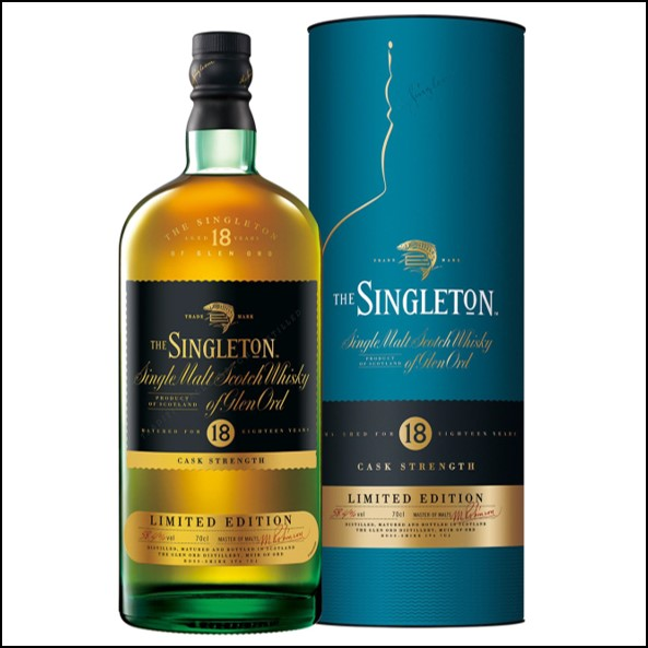 The Singleton of Glen Ord 18-year-old cask strength 70cl 58.4% 蘇格登18年原酒收購Glen Ord