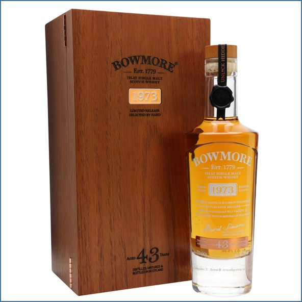 Bowmore 43 Year Old 1973 70cl 43.2%